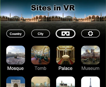Sites in VR - Viewer Set Up