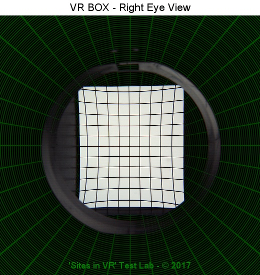 Sites in VR - VR BOX VR Headset Lens Review & QR Code